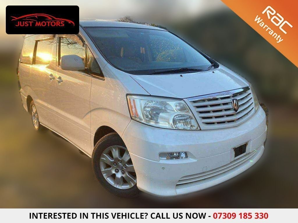 USED 2005 05 TOYOTA ALPHARD 2.4L 8 SEATER 5 DR IMPORTED|8 SEATER