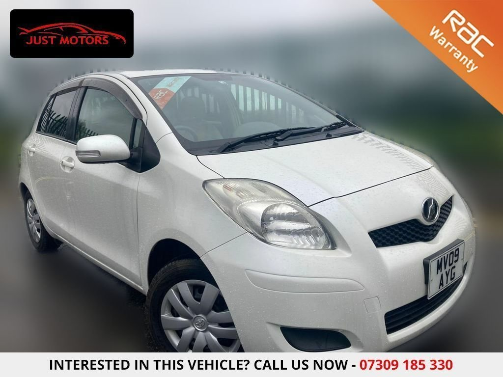 USED 2009 09 TOYOTA YARIS VITZ 1.0L FULLY AUTOMATIC 5 DR IMPORT LOW MILEAGE...JUST ARRIVED