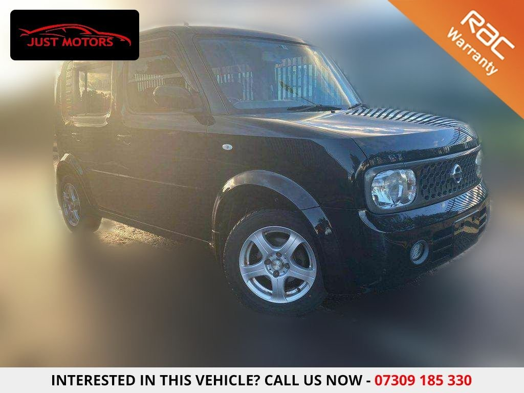 USED 2007 07 NISSAN CUBE BLACK 5 SEATER 1.5 5dr CHOICE OF 3..PRISTINE...IMPORT