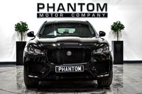 USED 2019 JAGUAR F-PACE 2.0 CHEQUERED FLAG AWD 5d 178 BHP