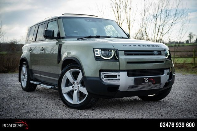 USED 2020 70 LAND ROVER DEFENDER 2.0 SD4 First Edition Auto 4WD (s/s) 5dr NAV+CAM.+PAN ROOF+7 SEATER