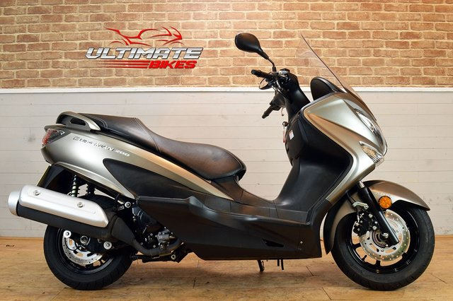 USED 2017 17 SUZUKI UH 200 AL7 BURGMAN - FREE DELIVERY AVAILABLE