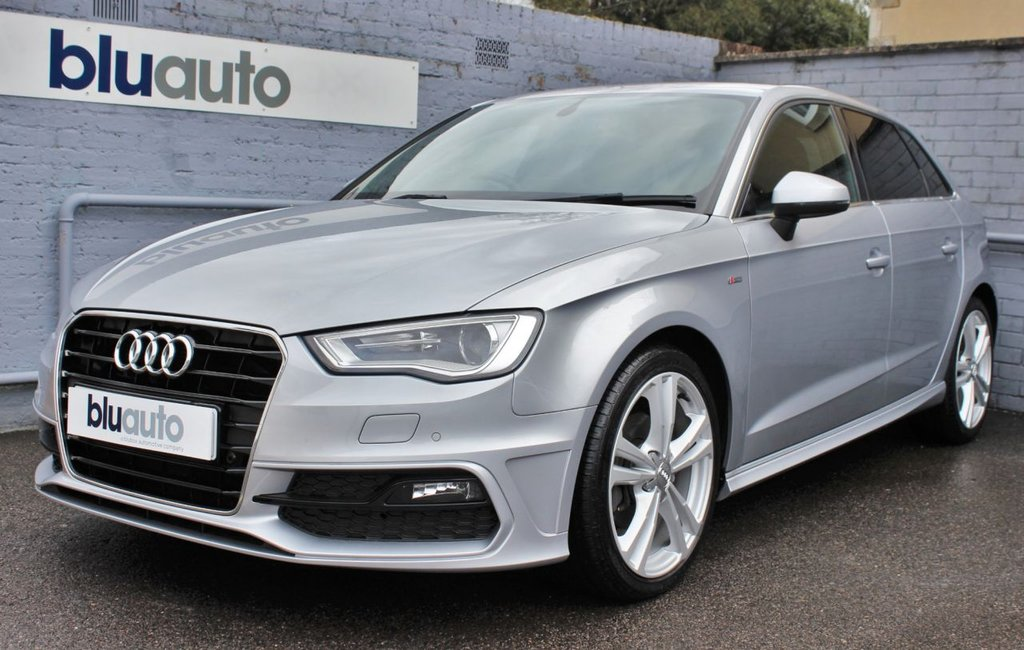 USED 2015 65 AUDI A3 2.0 TDI S LINE 5d 148 BHP 2 Owners, Full Audi History, £2505 of Optional Extras