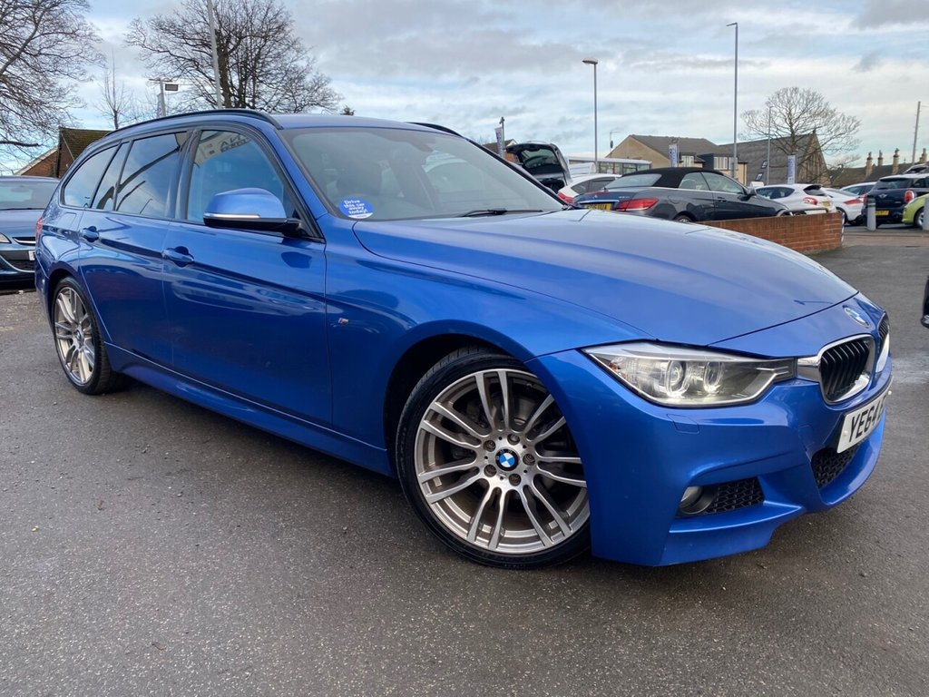 USED 2014 64 BMW 3 SERIES 2.0 320D M SPORT TOURING 5d 181 BHP