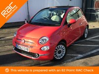 USED 2017 67 FIAT 500 1.2 LOUNGE 3d 69 BHP ** GREAT SPEC, 1 OWNER **