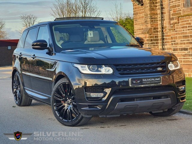2015 65 LAND ROVER RANGE ROVER SPORT 3.0 SDV6 AUTOBIOGRAPHY DYNAMIC 5d 306 BHP