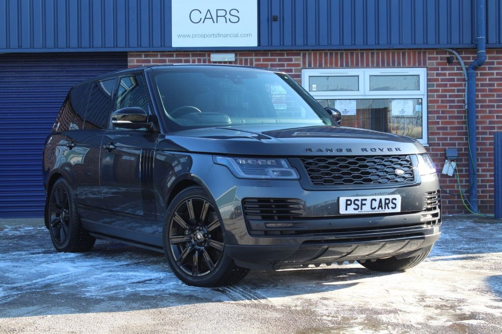 USED 2018 18 LAND ROVER RANGE ROVER 2.0 AUTOBIOGRAPHY 5d 399 BHP SLIDING PAN ROOF, SIDE STEPS