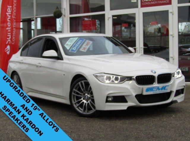 2014 64 BMW 3 SERIES 3.0 330D M SPORT 4d 255 BHP