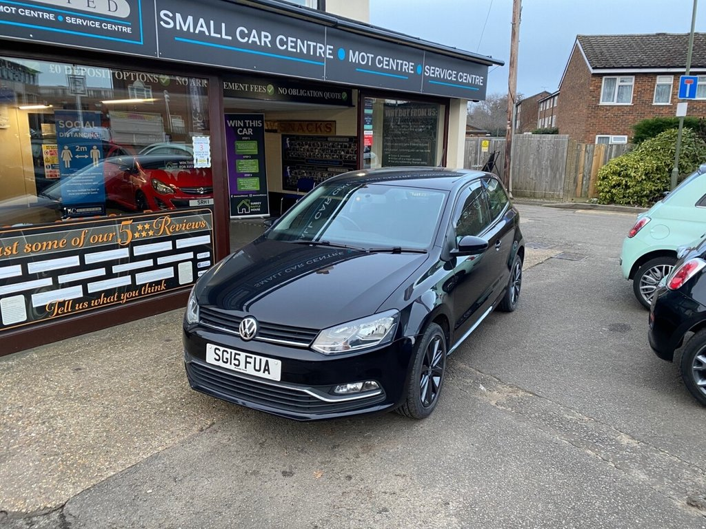 USED 2015 15 VOLKSWAGEN POLO 1.0 SE 3d 60 BHP BLUETOOTH - DAB - USB - AUX - AIRCON