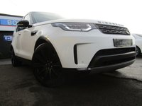 USED 2017 17 LAND ROVER DISCOVERY 3.0 TD6 HSE 5d 255 BHP 7 SEATS, BLACK PACK, 22 inch ALLOYS, MERIDIAN SOUND, GLASS ROOF, REAR CAMERA, HEATED SEATS FRONT AND REAR, TINTED GLASS, FULL MAIN DEALER SERVICE HISTORY