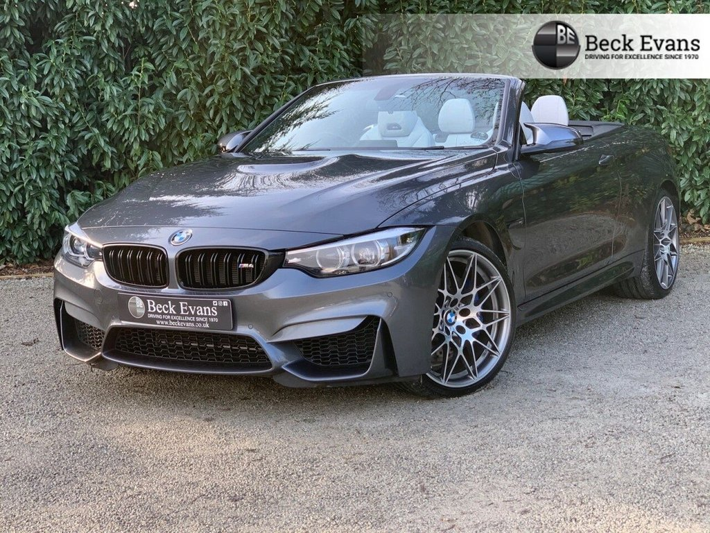 USED 2017 67 BMW M4 3.0 M4 Convertible COMPETITION 2d 444 BHP