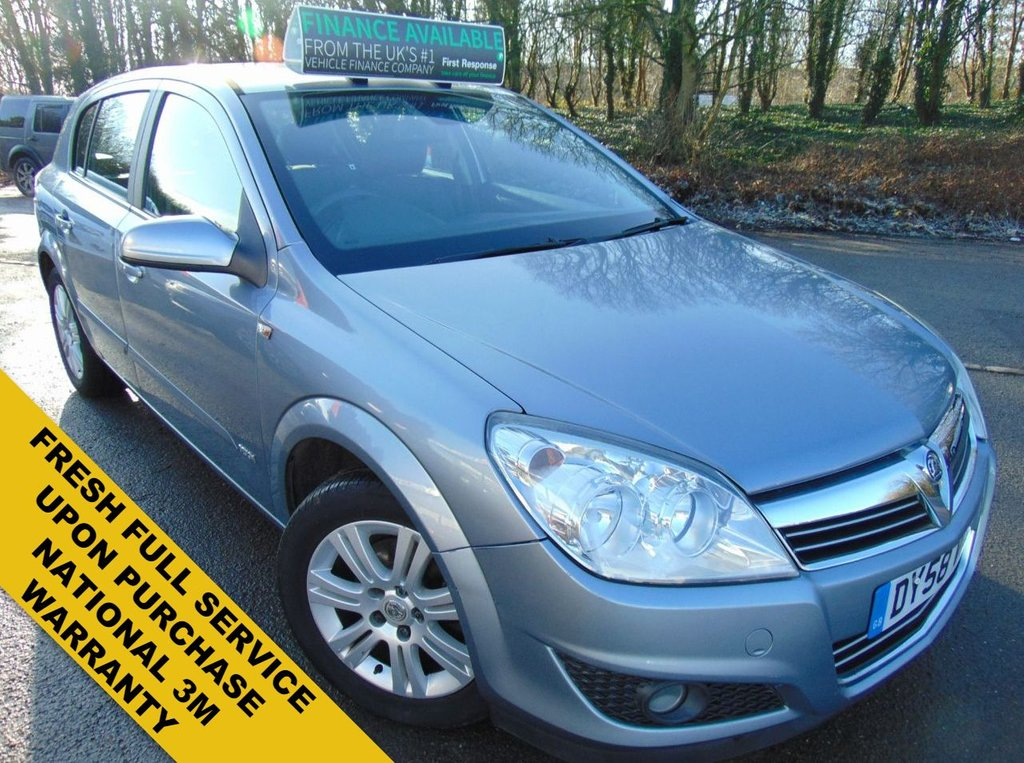 USED 2008 58 VAUXHALL ASTRA 1.8 DESIGN 16V E4 5d 140 BHP FRESH FULL SERVICE ON PURCHASE INCLUDING CAMBELT AND WATER PUMP