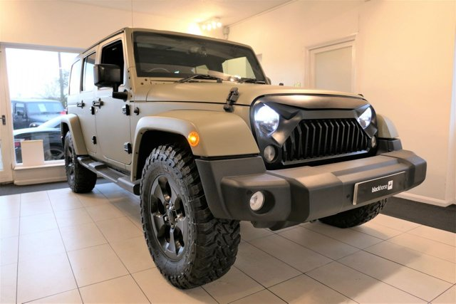 2014 64 JEEP WRANGLER 2.8 CRD OVERLAND UNLIMITED Reserved For Simon.