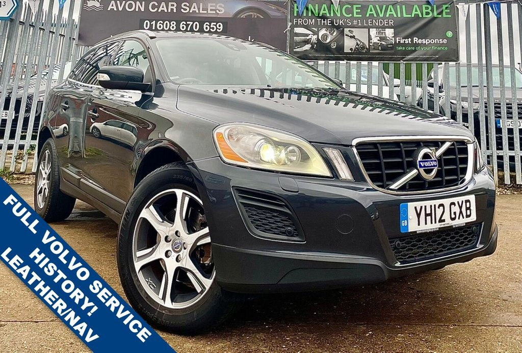 USED 2012 12 VOLVO XC60 2.4 D5 SE LUX AWD 5d 212 BHP AUTOMATIC! - FULL VOLVO HISTORY! FULL LEATHER! HEATED SEATS! PAN SUNROOF! KEYLESS ENTRY! SAT NAV!