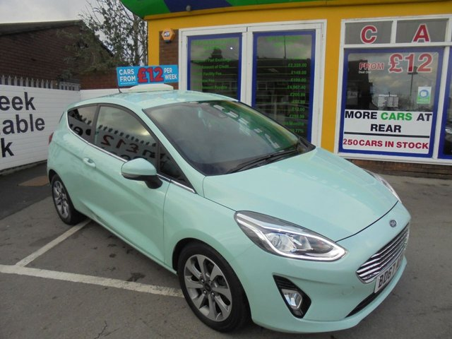 USED 2017 67 FORD FIESTA 1.0 B AND O PLAY ZETEC 3d 99 BHP **CLICK AND COLLECT ON YOUR NEXT CAR**