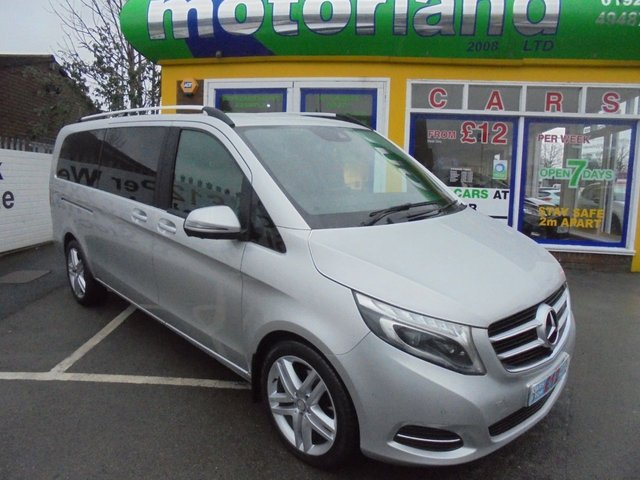 USED 2016 16 MERCEDES-BENZ V-CLASS 2.1 V250 BLUETEC SPORT 5d 188 BHP **CLICK AND COLLECT ON YOUR NEXT CAR**