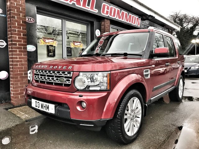 USED 2009 D LAND ROVER DISCOVERY 3.0 4 TDV6 HSE 5d 245 BHP