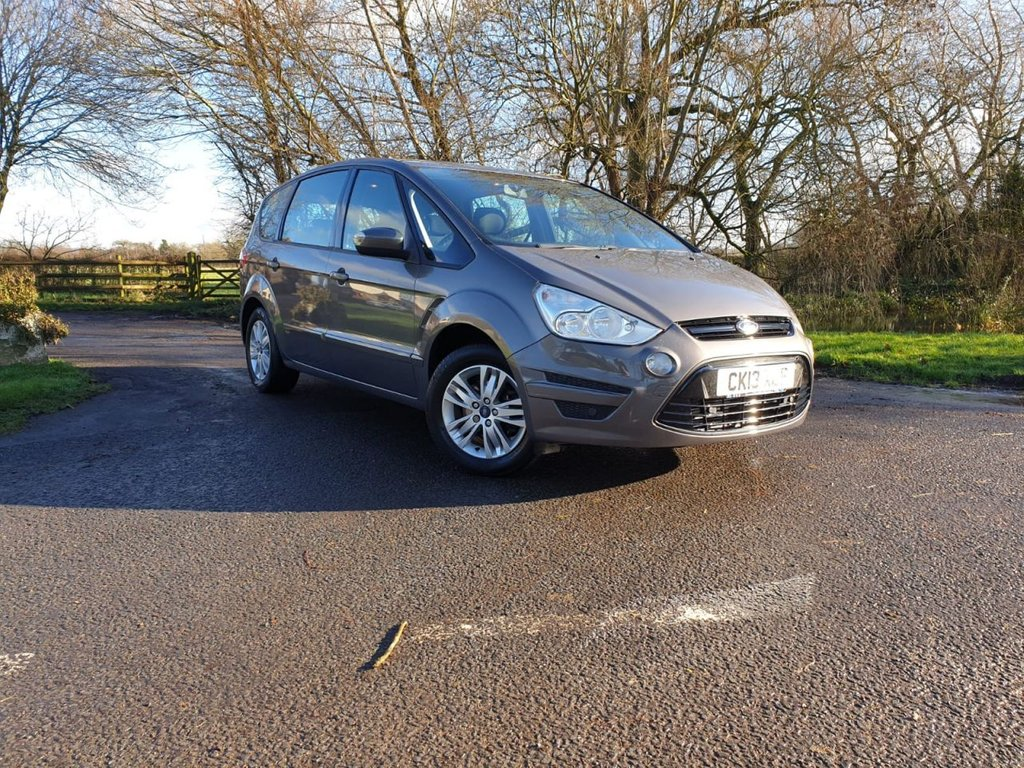 USED 2013 13 FORD S-MAX 1.6 ZETEC TDCI S/S 5d 115 BHP ZERO DEPOSIT and 126pm
