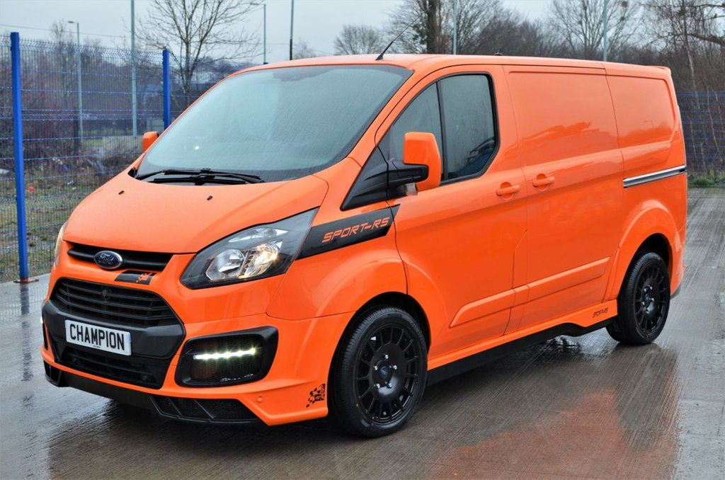 USED 2016 16 FORD TRANSIT CUSTOM SPORT-RS 2.2 330 125 BHP TAILGATE A/C 6 SPEED