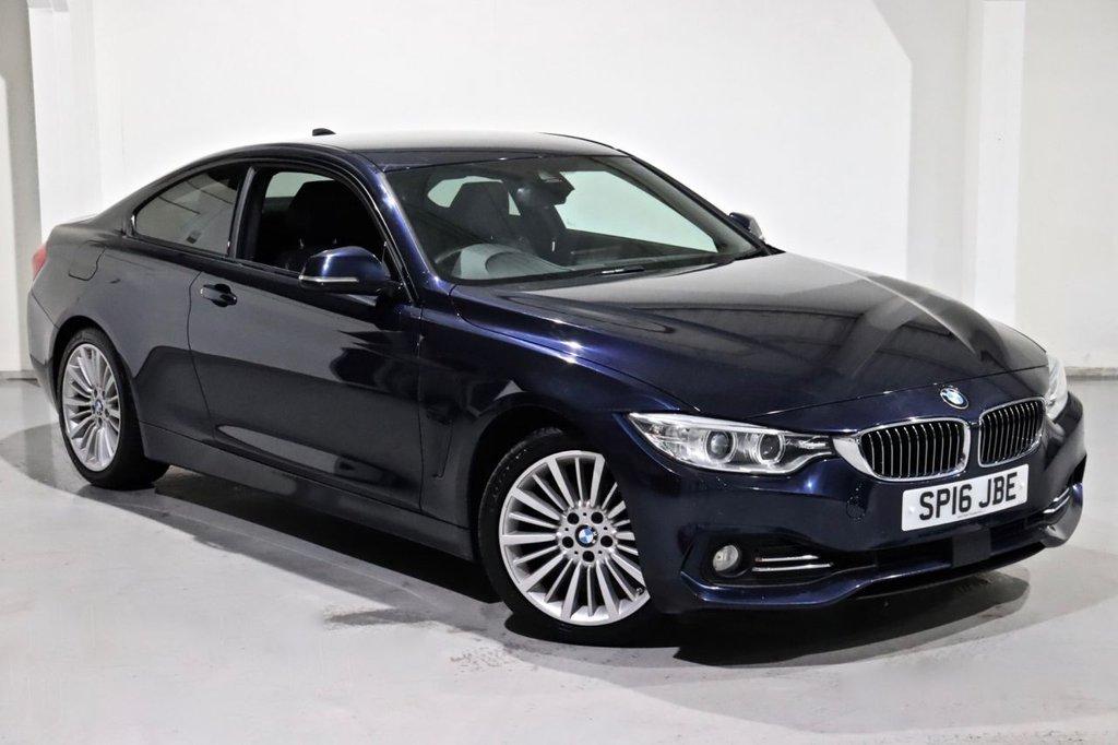 USED 2016 16 BMW 4 SERIES 2.0 420I LUXURY 2d 181 BHP