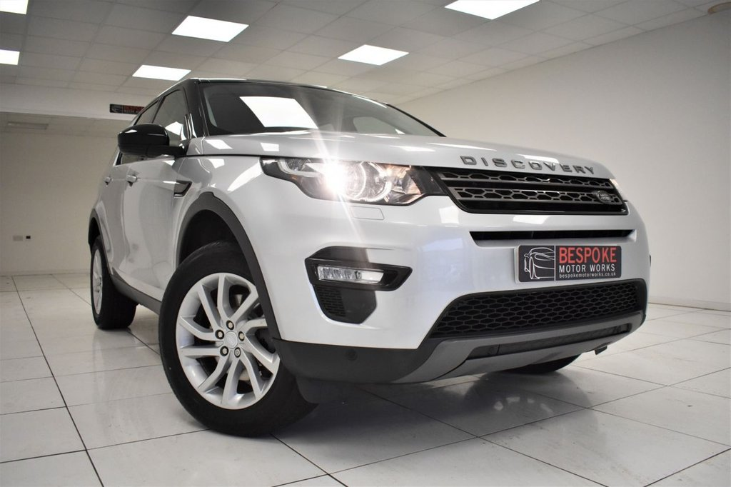 USED 2018 18 LAND ROVER DISCOVERY SPORT 2.0 TD4 SE TECH 5 DOOR