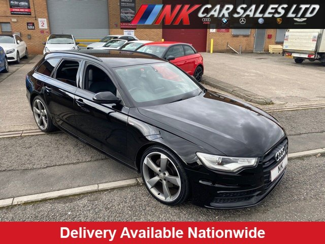 USED 2013 63 AUDI A6 2.0 AVANT TDI BLACK EDITION 5d 175 BHP 20 INCH ALLOYS,HEATED FRONT SEATS TIMING BELT WATER PUMP DONE  BOSE SOUND