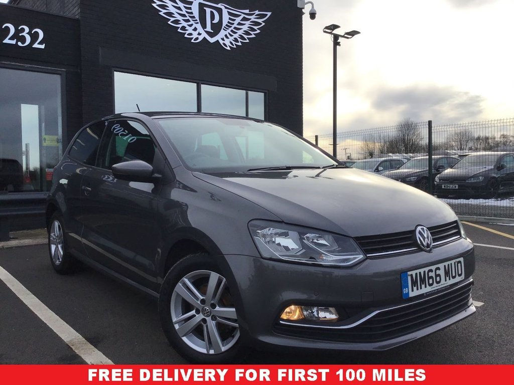 USED 2016 66 VOLKSWAGEN POLO 1.0 MATCH 3d 60 BHP