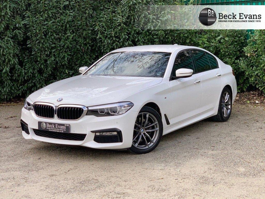 USED 2018 18 BMW 5 SERIES 2.0 520I M SPORT 4d 181 BHP