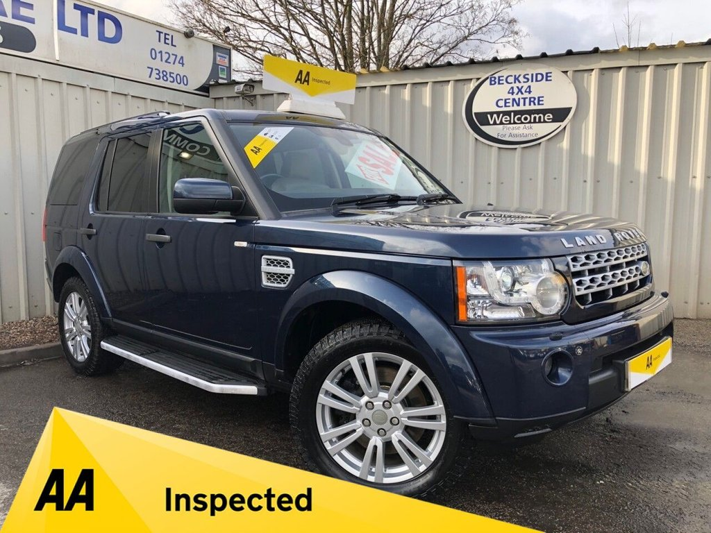 USED 2011 61 LAND ROVER DISCOVERY 3.0 4 SDV6 HSE 5d 245 BHP