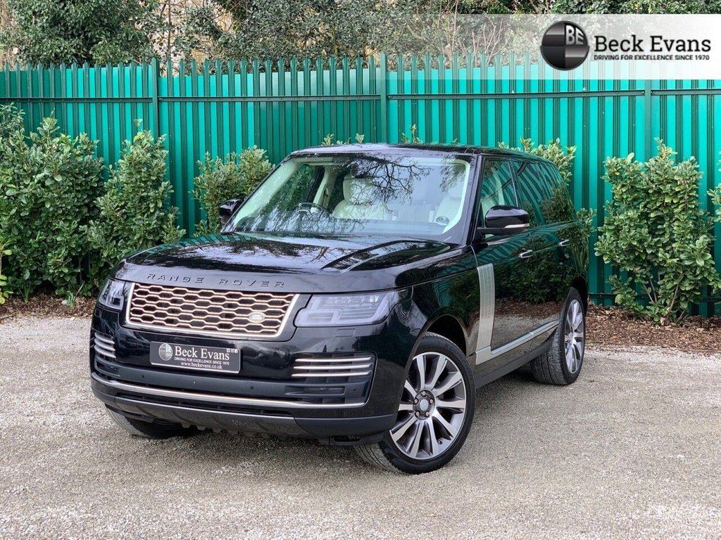 USED 2019 19 LAND ROVER RANGE ROVER 3.0 SDV6 AUTOBIOGRAPHY 5d 272 BHP