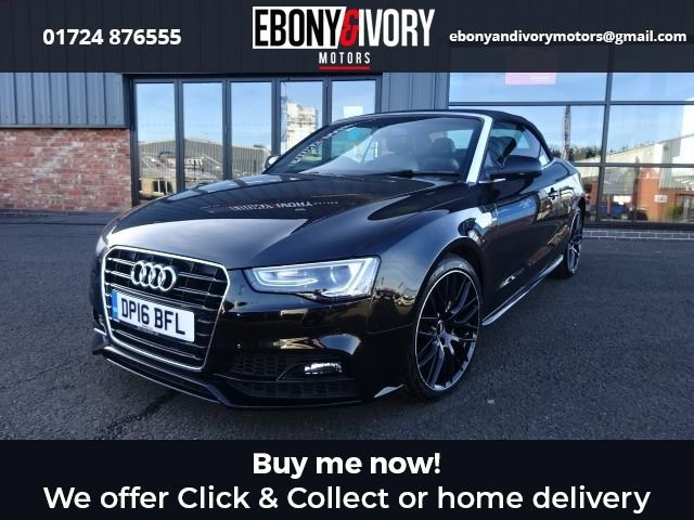 USED 2016 16 AUDI A5 2.0 TDI S LINE SPECIAL EDITION PLUS 2d 187 BHP+FULL AUDI SERVICE HISTORY+LEATHER INTERIOR+SAT NAV+STUNNING CAR FULL AUDI SERVICE HISTORY + 1 YEAR MOT AND BREAKDOWN COVER+LEATHER INTERIOR+SAT NAV