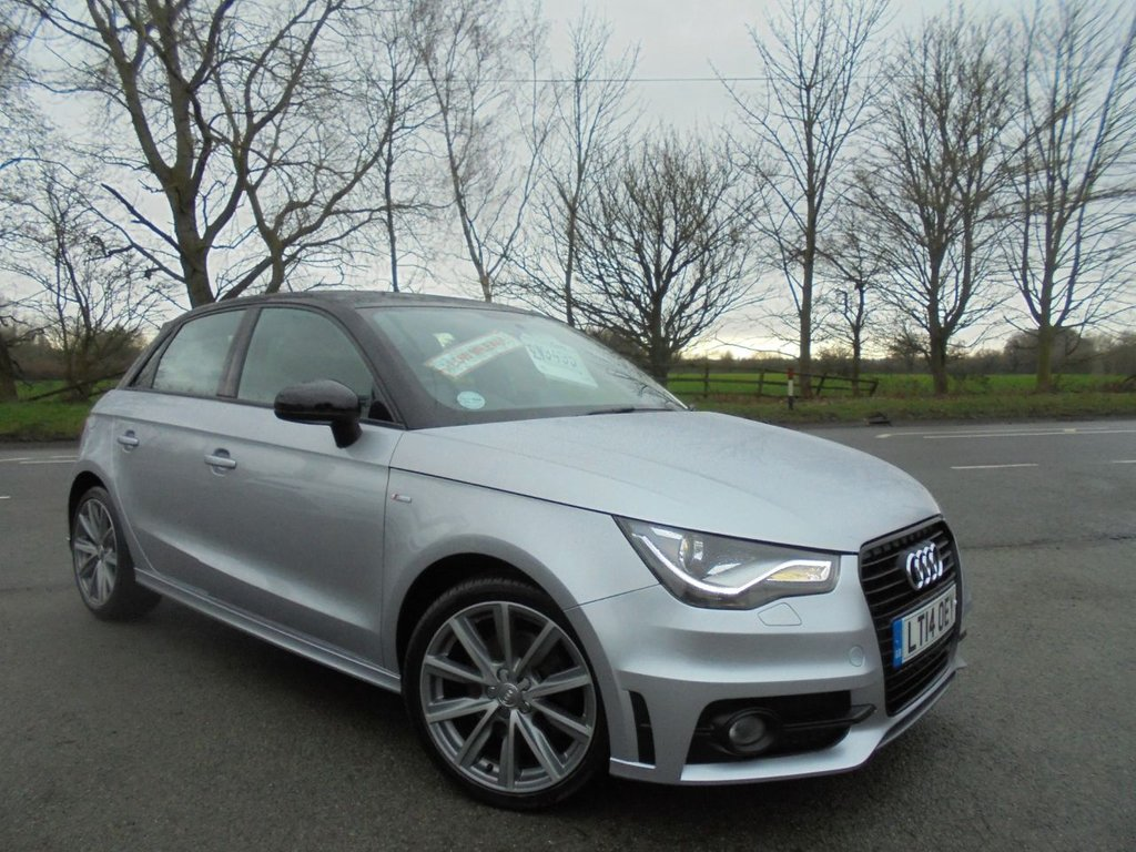 USED 2014 14 AUDI A1 1.6 SPORTBACK TDI S LINE STYLE EDITION 5d 103 BHP