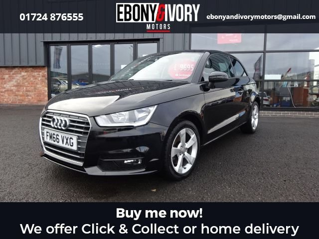 USED 2017 66 AUDI A1 1.6 TDI SPORT 3d 114 BHP EXCELLENT EXAMPLE+FULLY SERVICED+1 YEAR MOT+BREAKDOWN COVER