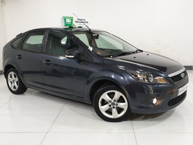 USED 2010 59 FORD FOCUS 1.8 ZETEC 5d 125 BHP