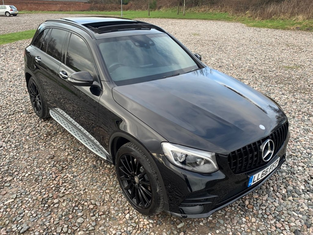 USED 2016 66 MERCEDES-BENZ GLC-CLASS 2.1 GLC 250 D 4MATIC AMG LINE PREMIUM 5d 201 BHP Free Next Day Nationwide Delivery
