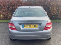 USED 2010 60 MERCEDES-BENZ C-CLASS 1.8 C180 CGI BLUEEFFICIENCY SE 4d 156 BHP * 12 MONTHS AA BREAKDOWN COVER * 12 MONTHS MOT *