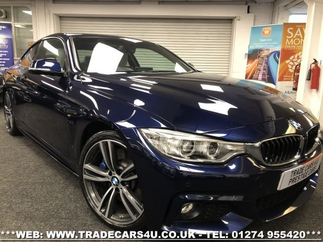 USED 2016 66 BMW 4 SERIES 3.0 440I M SPORT 2d 322 BHP FREE UK DELIVERY*VIDEO AVAILABLE* FINANCE ARRANGED* PART EX*HPI CLEAR