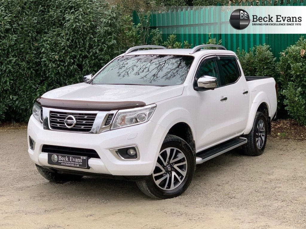 USED 2016 66 NISSAN NP300 NAVARA 2.3 DCI TEKNA 4X4 SHR DCB 190 BHP NO ADDED VAT