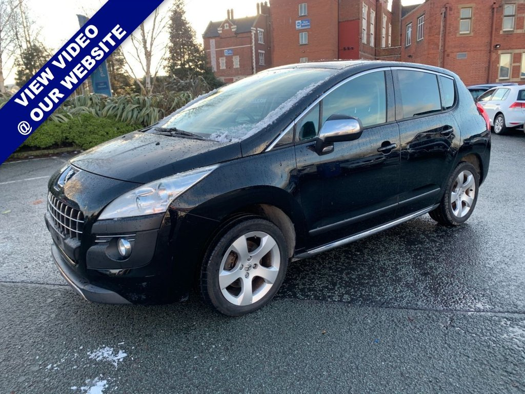 USED 2011 61 PEUGEOT 3008 1.6 EXCLUSIVE 5d 155 BHP