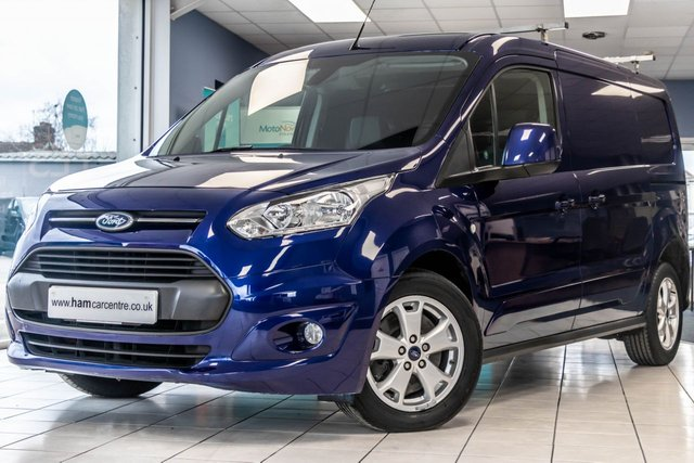 2016 66 FORD TRANSIT CONNECT 1.5 240 LIMITED P/V L2 118 BHP EURO 6 AIR CON