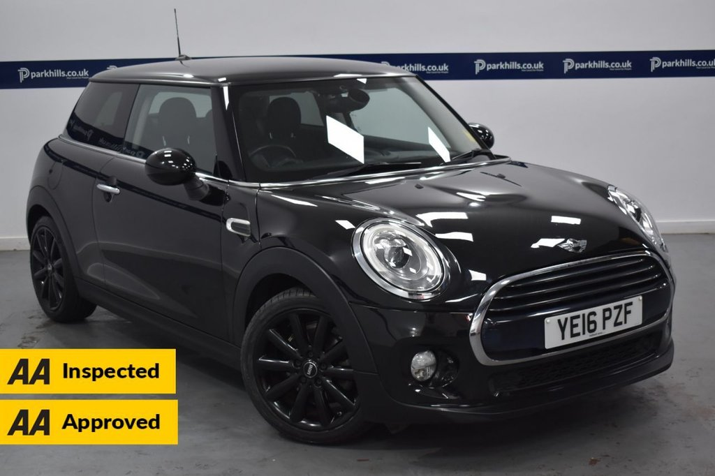 USED 2016 16 MINI HATCH COOPER 1.5 COOPER D 3d 115 BHP (CHILLI PACK - PRIVACY GLASS)