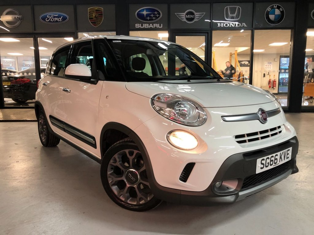 USED 2016 66 FIAT 500L 1.3 MultiJet Trekking MPW (s/s) 5dr Complementary 12 Months RAC Warranty and 12 Months RAC Breakdown Cover Also Receive a Full MOT With All Advisory Work Completed, Fresh Engine Service and RAC Multipoint Check Before Collection/Delivery