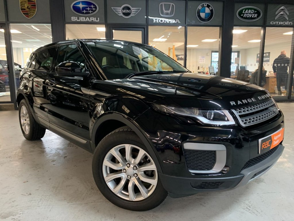 USED 2015 65 LAND ROVER RANGE ROVER EVOQUE 2.0 eD4 SE (s/s) 5dr Complementary 12 Months RAC Warranty and 12 Months RAC Breakdown Cover Also Receive a Full MOT With All Advisory Work Completed, Fresh Engine Service and RAC Multipoint Check Before Collection/Delivery