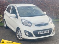 USED 2014 14 KIA PICANTO 1.0 VR7 5d 68 BHP * 12 MONTHS FREE AA MEMBERSHIP * IDEAL FIRST CAR *