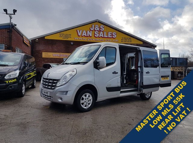 USED 2014 14 RENAULT MASTER  SPORT MINIBUS MPV WHEEL ELEC LIFT NO VAT  BIG STOCK OF MINIBUSES ALL MODELS