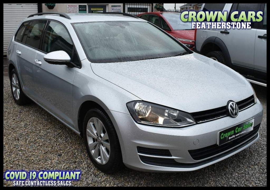 USED 2015 15 VOLKSWAGEN GOLF 1.6 TDI BlueMotion Tech SE (s/s) 5dr AMAZING CONDITON ESTATE CAR