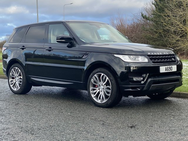 USED 2016 16 LAND ROVER RANGE ROVER SPORT 3.0 SDV6 AUTOBIOGRAPHY DYNAMIC 5d 306 BHP 4WD AUTO 7 Seat Version