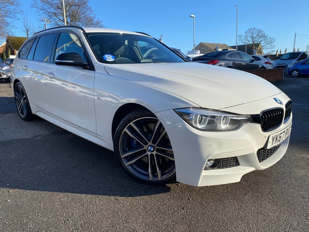 USED 2017 67 BMW 3 SERIES 3.0 330D M SPORT SHADOW EDITION TOURING 5d 255 BHP