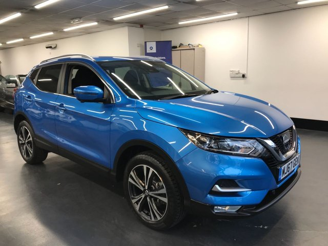 USED 2017 67 NISSAN QASHQAI 1.2 N-CONNECTA DIG-T 5d 113 BHP HUGE SPEC: TOUCHSCREEN SATNAV, 360 CAMERA, BLUETOOTH PHONE AND AUDIO, PARKING SENSORS