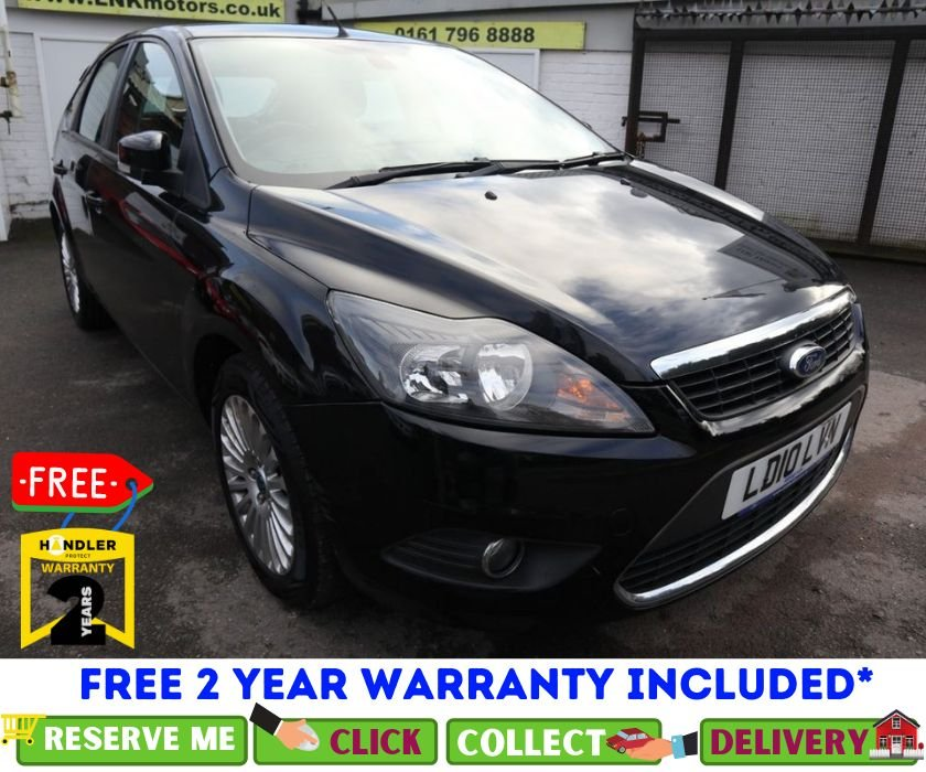 USED 2010 10 FORD FOCUS 2.0 TITANIUM TDCI 5d 136 BHP *CLICK &  COLLECT OR DELIVERY